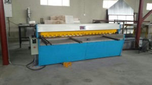 New 2500mm x 3.25mm motorised guillotine