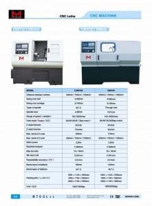 NEW Ck6132 x 1000 CNC LATHE