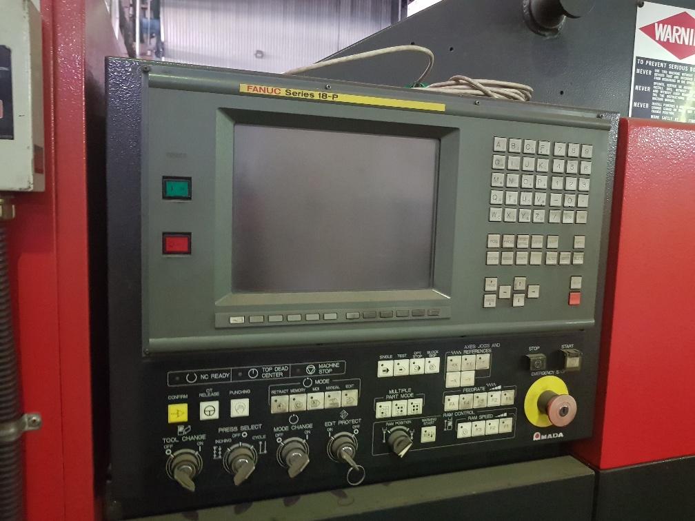 Used AMADA VIPROS 255 CNC PUNCHING MACHINE | Spartan Machine