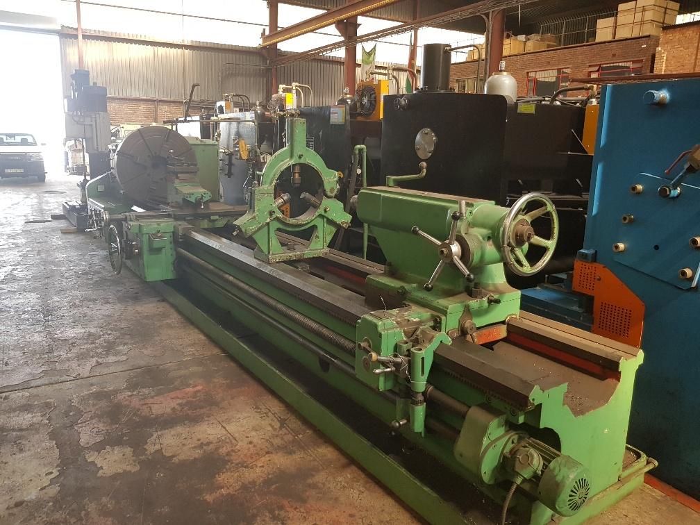 Used Lathe Engine Stanko Ryazan 5000mm X 1000 Mm Swing
